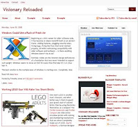 Visionary Reloaded Blogger Template
