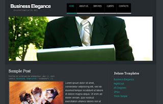 Business Elegance Blogger Template | Professional Theme
