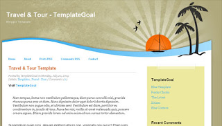 Travel & Tour Blogger Template