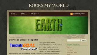 Blogger Template Rocks My World