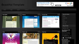 Gallery Style Magazine Blogger Template