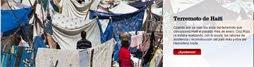 Información, vídeos, archivos sobre Haití en la WEB de Cruz Roja