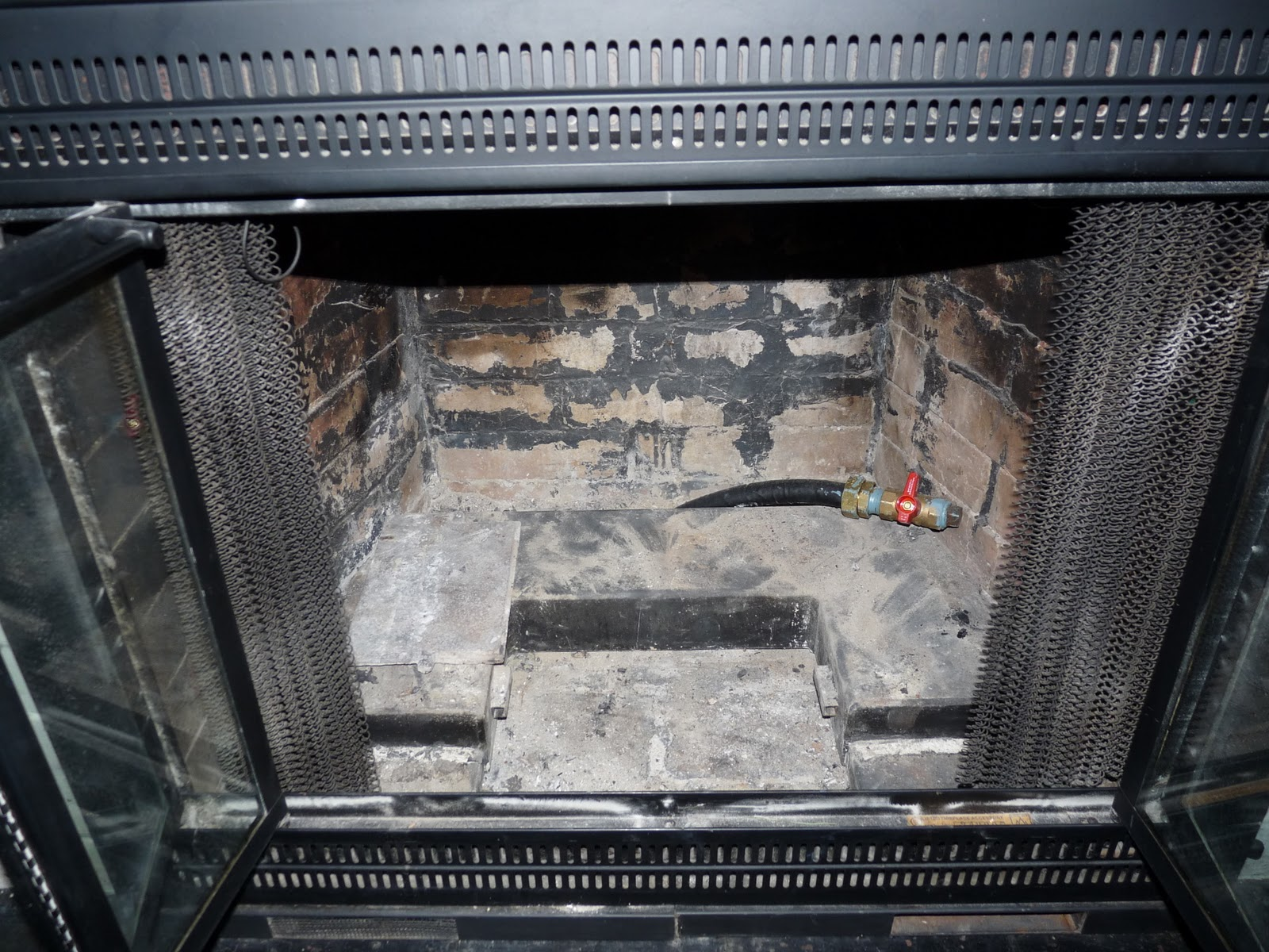 Open Fireplace Glass Doors Images - Glass door, Interior doors ...