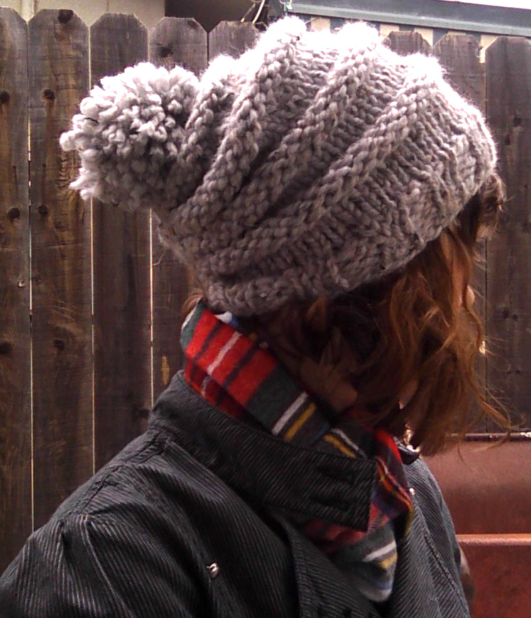 Free Knitting Pattern Hat With Bulky Yarn : sew knit me: Bicycle Wheels - Free Pattern