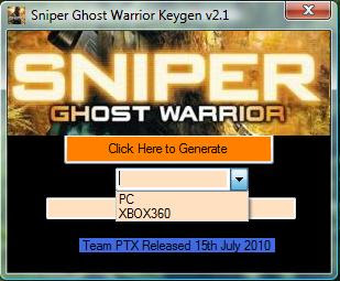 Sniper Ghost Warrior Serial Key Software Download