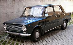 1966 FIAT 124 Berlina