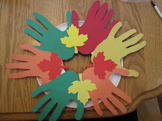 Toddler Fall Unity Wreath Lesson Plans
