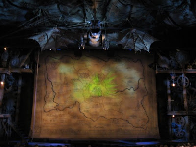Emma and I went to see Wicked at the Gershwin Theater. Here's the map of Oz