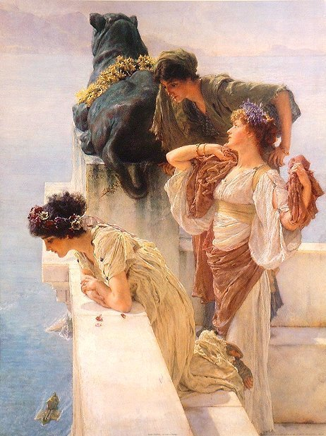 Neoclasicismo, Ingls. Lawrence ALMA - TADEMA, 1836- 1912.