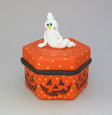 The constant crafter halloween polymer clay projects for Paper clay projects