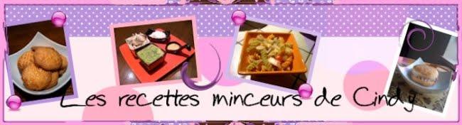 Les recettes de Cindy