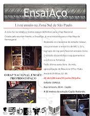 Primeiro cartaz EnsaiAço