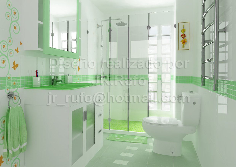 jrr. proyectos: cocina - cuarto de baÑo - salon comedor