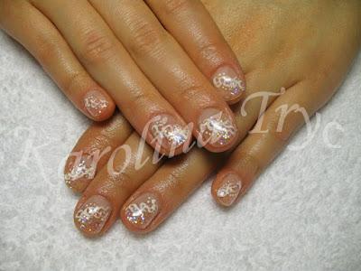 Nail art on natural nails by Emy - artnail.