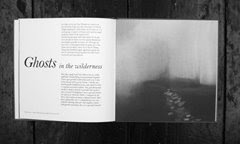 Ghosts in the wilderness - Designed and Illustrated by Glyn Brewerton.