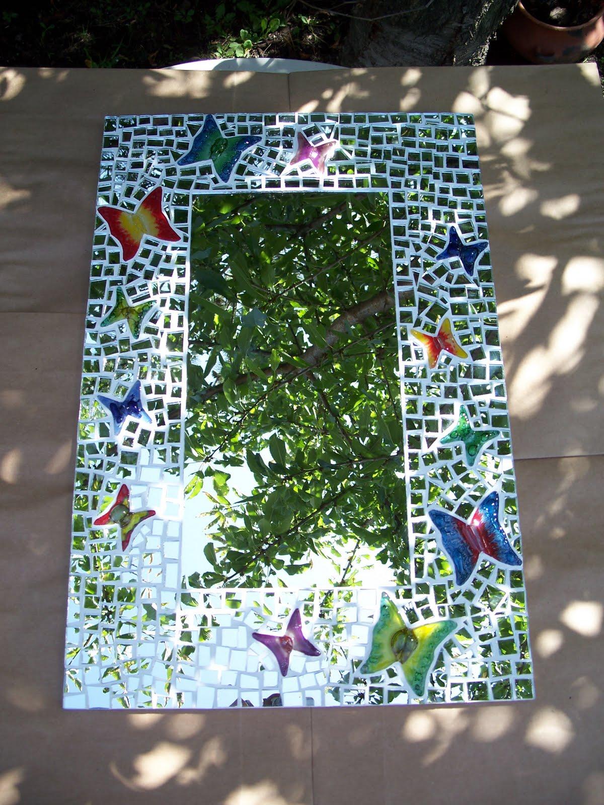 Artesanias la era de acuario espejos for Disenos para mosaicos