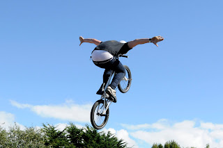 BMX wooden waves Newquay