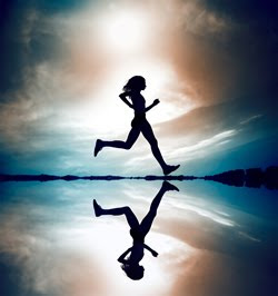woman running Interval Training ~ Is 15 Minutes Enough?