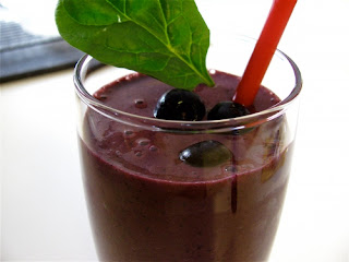 Banana Blueberry Smoothie Energizing Smoothie Recipes