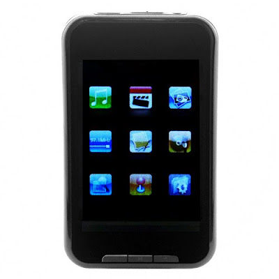 Touchscreen MP4 Player Video Camera