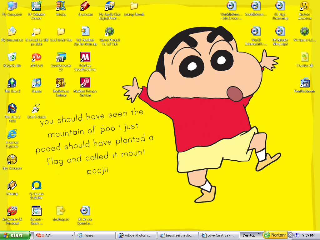 Shin Chan Wallpaper By Tearip