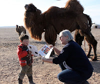 Sharing Books in Mongolia