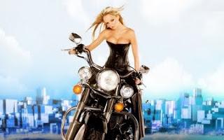 Jennifer Ellison Bike