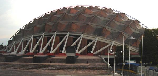 Dise o arte y arquitectura f lix candela y la for Puerta 7 palacio delos deportes