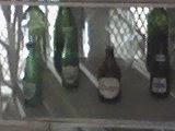 Botellas antiguas del año 50