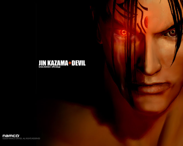 jin kazama devil 50 Best Tekken Game HD Wallpapers