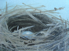 Click here and learn how to paint a birds nest!