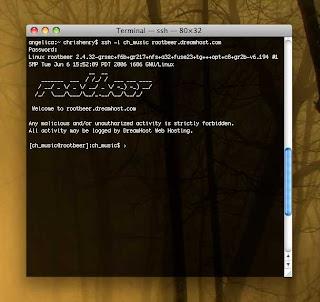 ssh in a mac