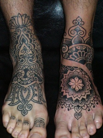 tattoo designs for girls feet. 2 stunning Tattoo Designs,