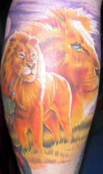tribal lion tattoo. tribal lion tattoo.