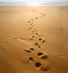 footprints in the sand poem
