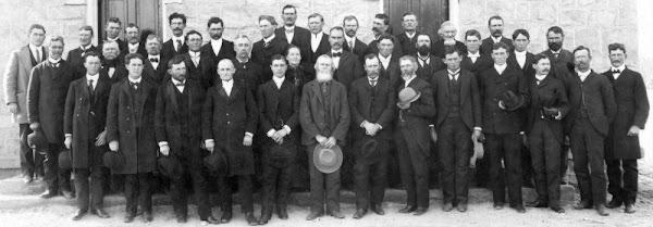 Bluff Missionaries 1890's