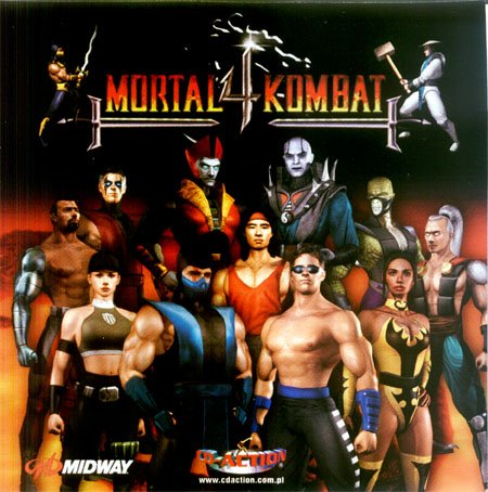 Mortal Kombat 4 [PSX] [FULL ISO]