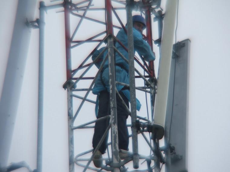Giliran TS07 Pula Naik Tower