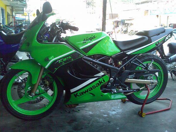 Our World Lelang Kawasaki Ninja Full Modifikasi