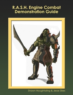 R.A.S.H. Engine Combat Demonstration Guide cover. Click here to download free from Lulu!