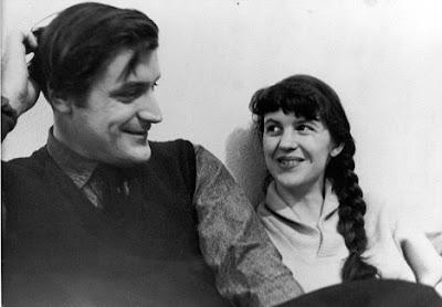 Ted Hughes y Sylvia Plath