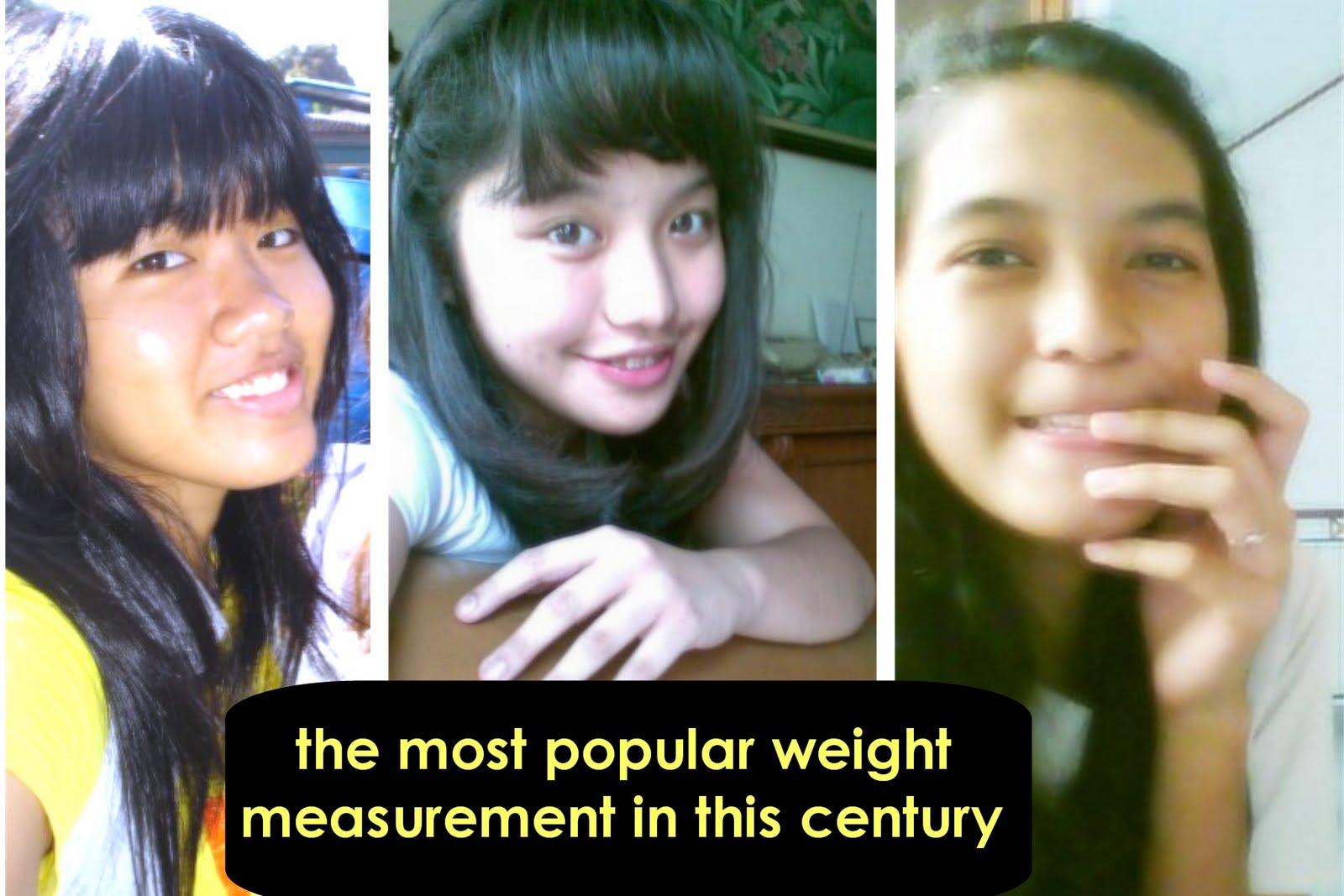 satuan berat terpopuler abad ini :D
