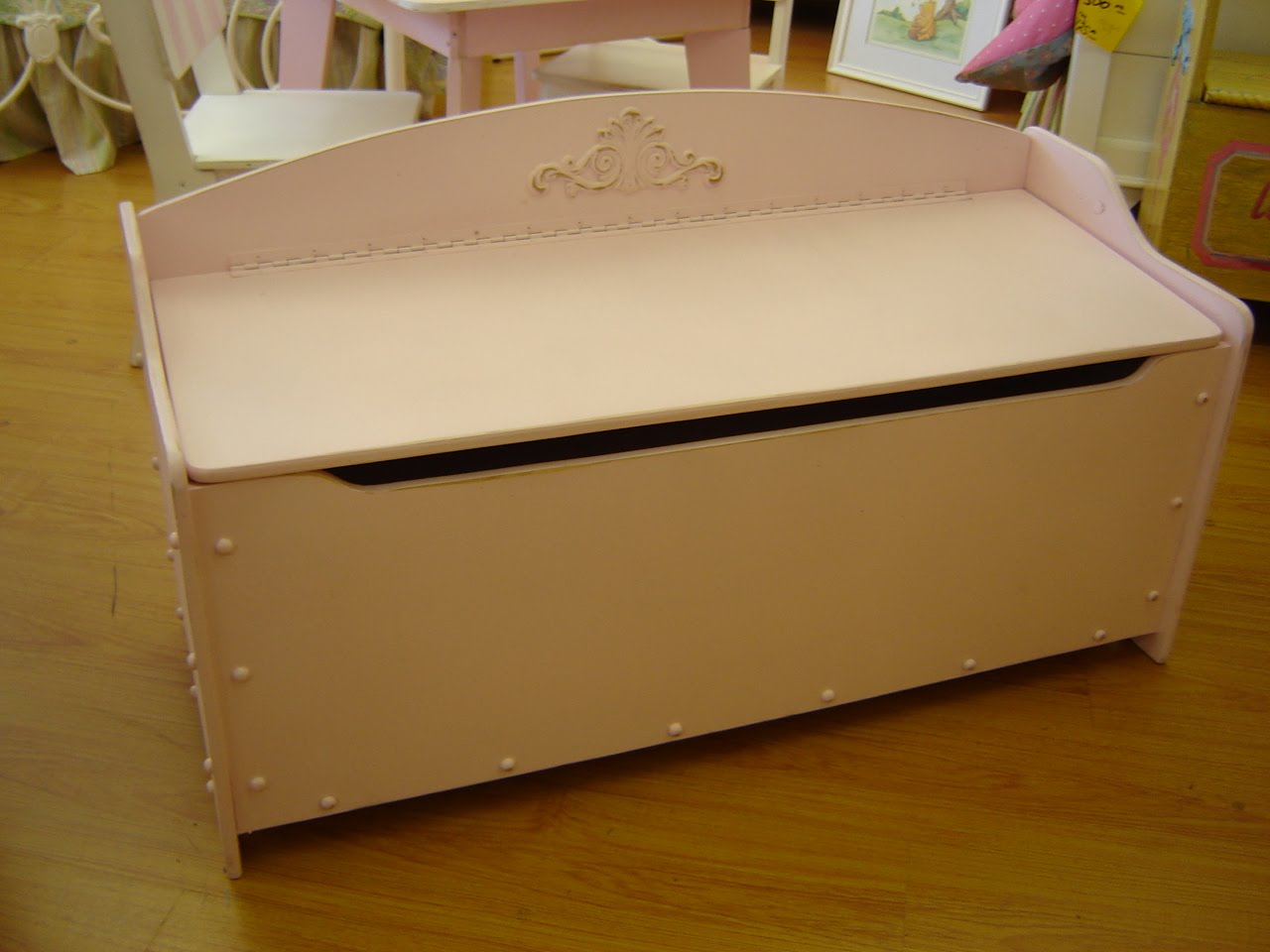 The Woodmaster Toy Box End Of Bed Design