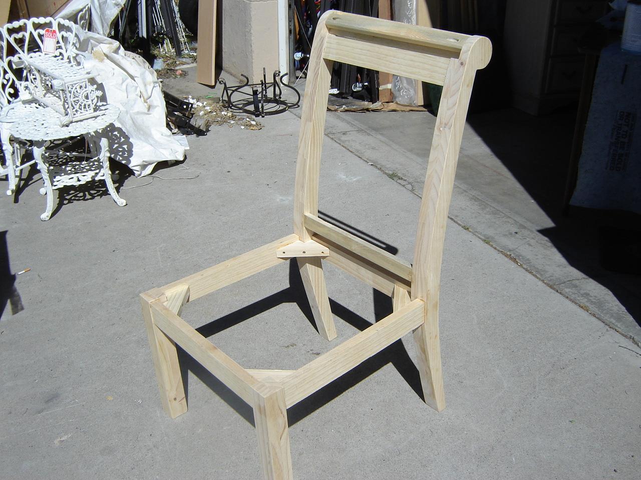 Parson Type Chair Frames