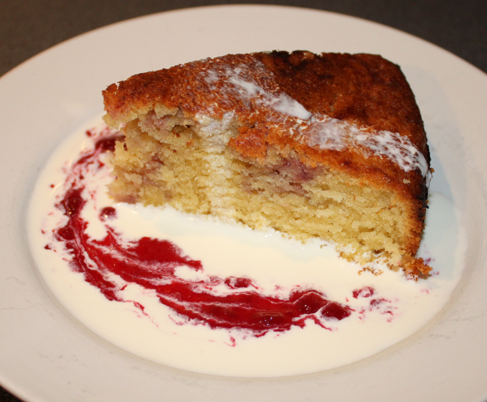Plum Almond Cake Recipe — Dishmaps