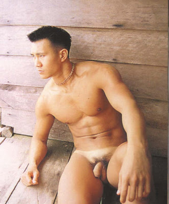 Hot Asian Naked Studs