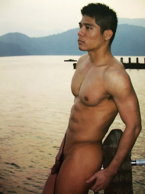 Naked asian hunk added