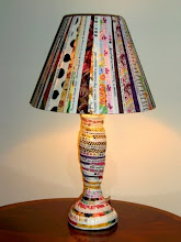 What next, a selvage covered lamp?