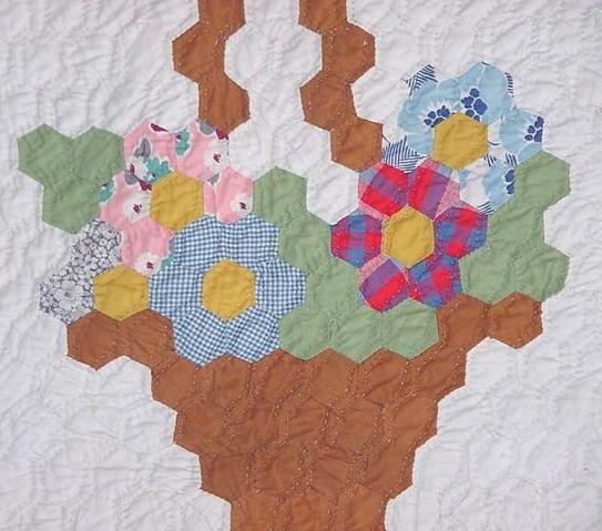 Quilt Du Jour Grandmother S Flower Basket