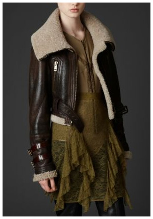 Shearling Aviator Jacket. Wish On A Star ♥